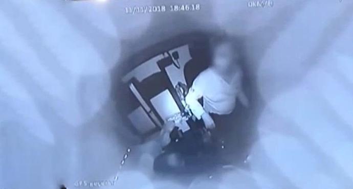 Özel Güvenlik Görevlisini Bıçaklayarak Para Nakil Aracını Gasp Ettiler