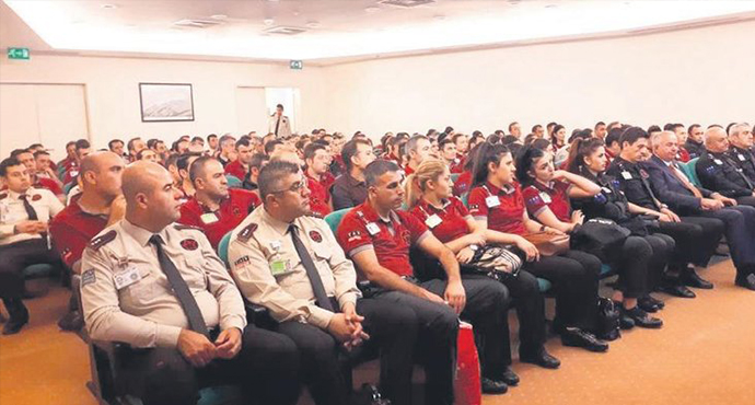 Özel Güvenlik Görevlilerine Savunma Eğitimi Verildi
