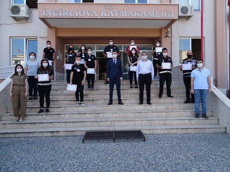 özel güvenlik görevlilerine teşekkür belgesi