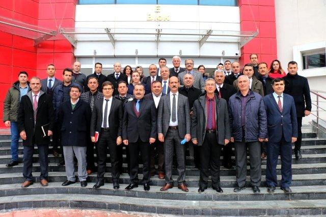 Özel Güvenlik şirketleriyle koordinasyon toplantısı yapıldı