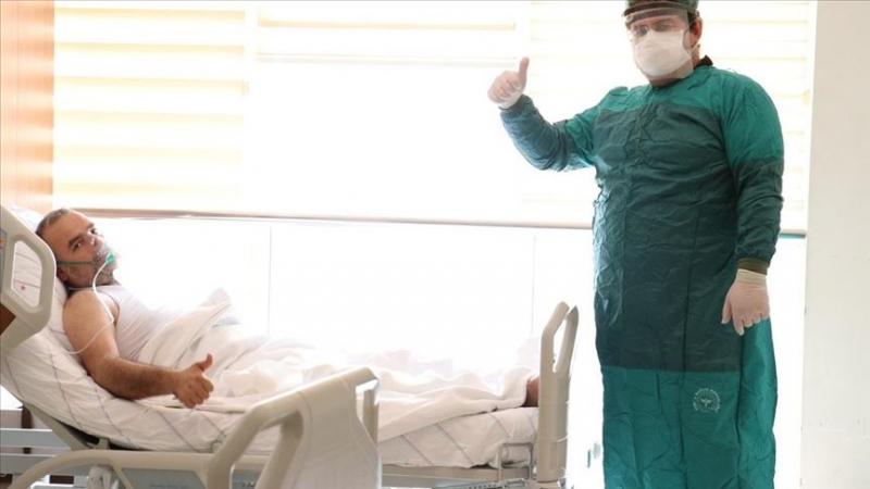 Plazma tedavisi uygulanan Güvenlik Görevlisinde Sevindiren Haber