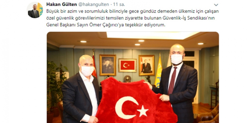 PTT Genel Müdürü Gülten'den Özel Güvenliklere Anlamlı Sözler