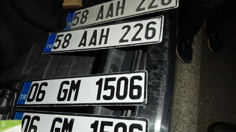 Sivas'ta Sahte Plakalı Araç kullanan Özel Güvenlik Görevlisine Ceza Yağdı