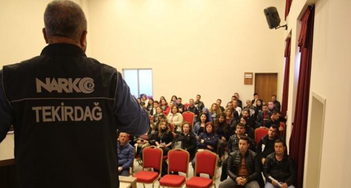 Tekirdağ' da Özel Güvenlik Görevlilerine Yönelik Eğitim Düzenlendi