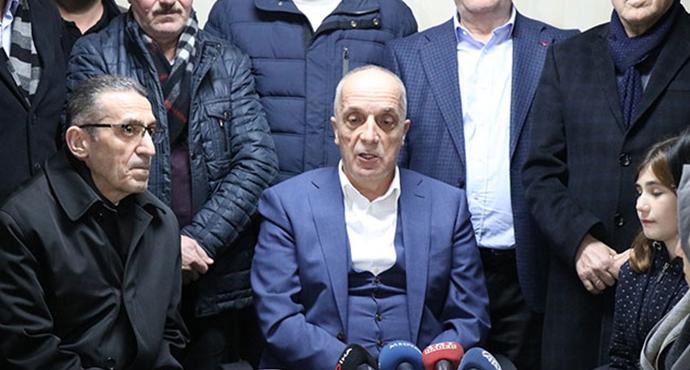 Türk-İş Başkanı Ergün Atalay, '85 bin işçi kadroya geçer inşallah'