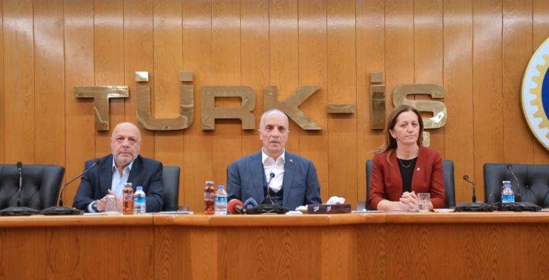 TÜRK-İŞ HAK-İŞ ve DİSK'den Vergi Konusunda Ortak Açıklama