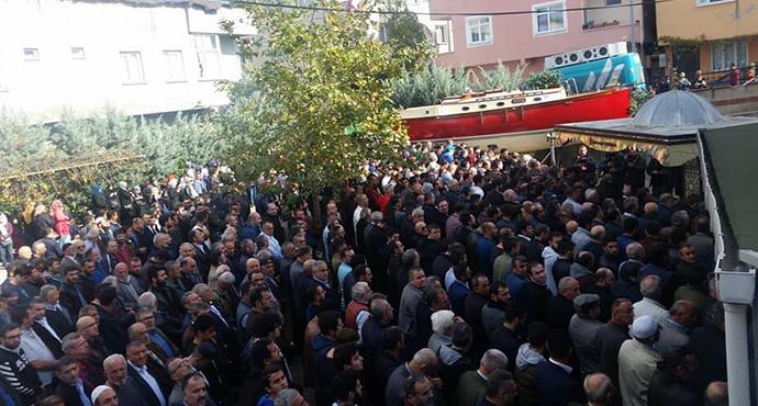 Ümraniye' de Göçük Altında Kalan Özel Güvenlik Görevlisi Son Yolculuğuna Uğurlandı