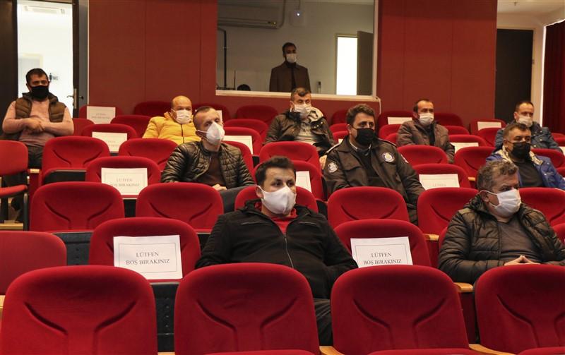 İl Emniyet Müdürlüğünden Özel Güvenlik Görevlilerine Eğitim