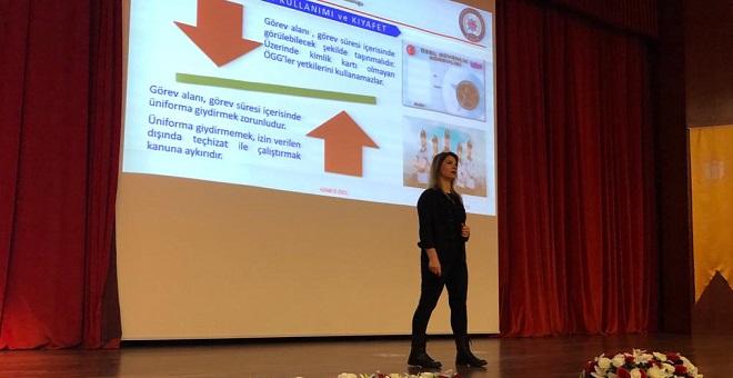 Malatya'da Güvenlik Tedbirleri Eğitimi Verildi