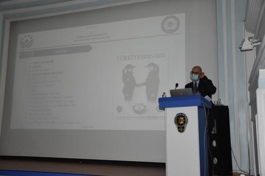 Özel güvenlik görevlilerine KAAN Projesi anlatıldı