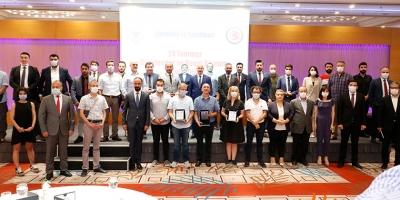 24 Temmuz Gazeteciler ve Basın Bayramında Güvenlik-İş'ten Basın Mensuplarına Ödül