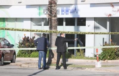 Antalya'da Bankada Güvenlik Görevlisini Rehin Alan Sanığa 3 Yıl 4 Ay Hapis Cezası