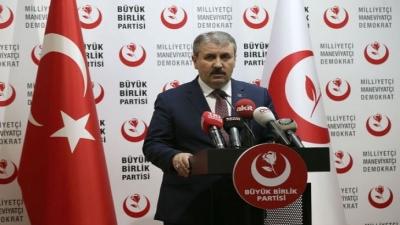 BBP Lideri Destici'den 'Seçim İttifakı' Açıklaması