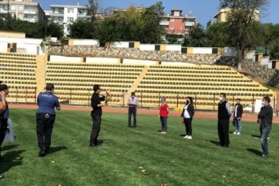 Futbol Maçları İçin Polisten Özel Güvenliklere Eğitim