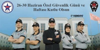 Güvenlik-İş Sendikası 26-30 HAZİRAN ÖZEL GÜVENLİK GÜNÜ VE HAFTASI KUTLU OLSUN