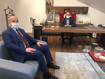 Güvenlik-İş'ten PTT PAL Genel Müdürü Kazdal'a Ziyaret
