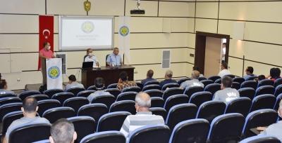 Harran Üniversitesinde Özel Güvenlik Görevlilerine Hizmet İçi Eğitim Verildi