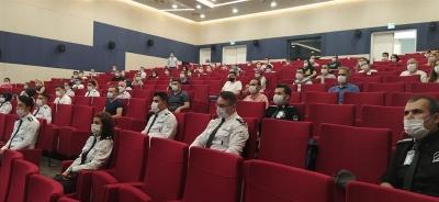 Havalimanlarında görev yapan emniyet personeli ve özel güvenlik görevlileri eğitimi tamamlandı