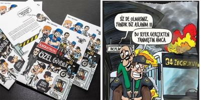 'Karikatürlerle Özel Güvenlik' Kitabı Sektörde İlgi Gördü