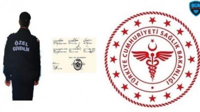 Özel Güvenlik Adayı Özel Hastaneden Rapor Alamayacak