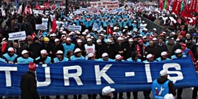 TÜRK-İŞ, Torba Yasaya Karşı 81 ilde Basın Açıklaması Düzenledi