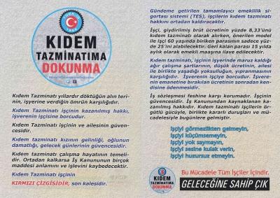 TÜRK-İŞ'ten örgütsüz işçileri bilgilendirme kampanyası