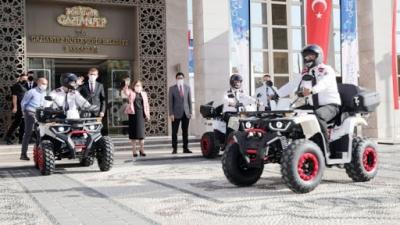 Gaziantep Büyükşehir'den Güvenlik Görevlilerine Yeni Ekipman Desteği